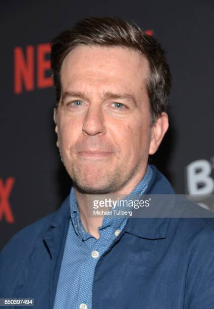 Ed Helms arrives at the premiere of Netflix's 'Big Mouth' at Break Room 86 on September 20 2017 in Los Angeles California