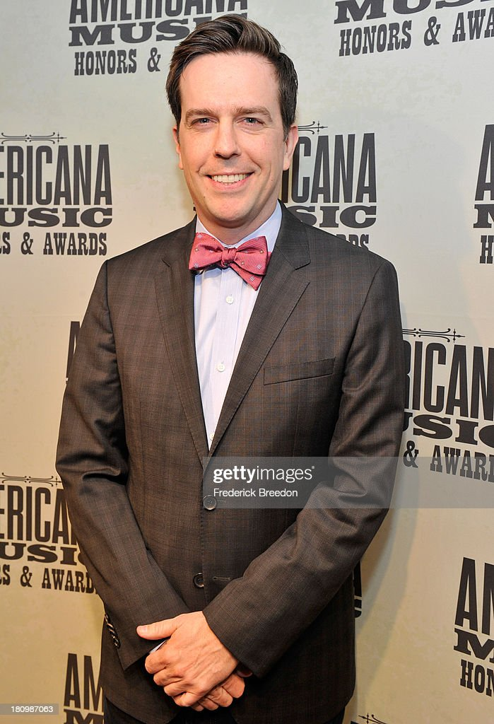 Ed Helms attends 12th Annual Americana Music Honors And Awards Ceremony Presented By Nissan on September 18, 2013 in Nashville, Tennessee.