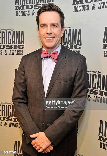 Ed Helms attends 12th Annual Americana Music Honors And Awards Ceremony Presented By Nissan on September 18 2013 in Nashville Tennessee