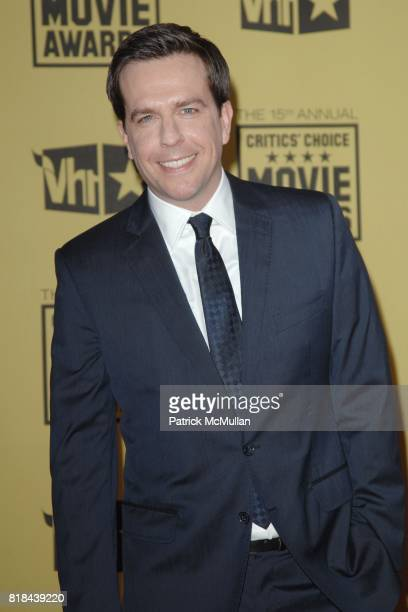 Ed Helms attends 2010 Critics Choice Awards at The Palladium on January 15 2010 in Hollywood California