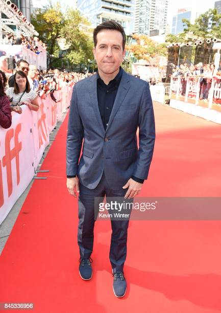 Ed Helms attends the 'Chappaquiddick' premiere during the 2017 Toronto International Film Festival at Roy Thomson Hall on September 10 2017 in...