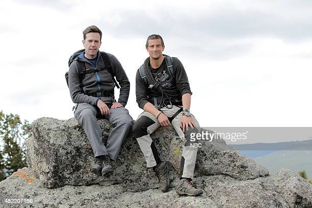 GRYLLS 'Ed Helms' Episode 208 Pictured Ed Helms Bear Grylls