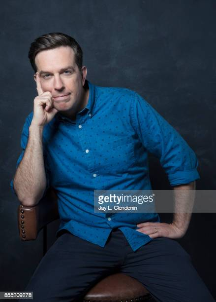 Ed Helms from the film 'Chappaquiddick' poses for a portrait at the 2017 Toronto International Film Festival for Los Angeles Times on September 10...