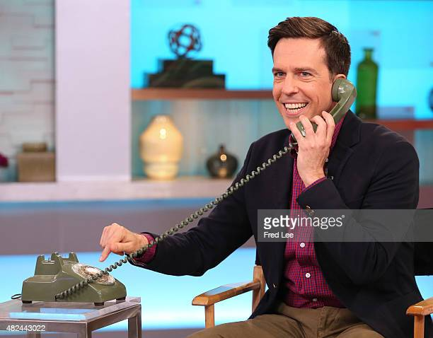 AMERICA Ed Helms is a guest on 'Good Morning America' 7/29/15 airing on the ABC Television Network