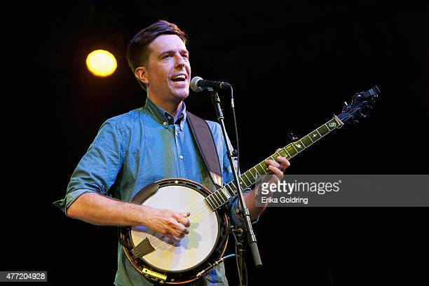 Ed Helms performs on day 4 of Bonaroo Music Arts Festival on June 14 2015 in Manchester Tennessee