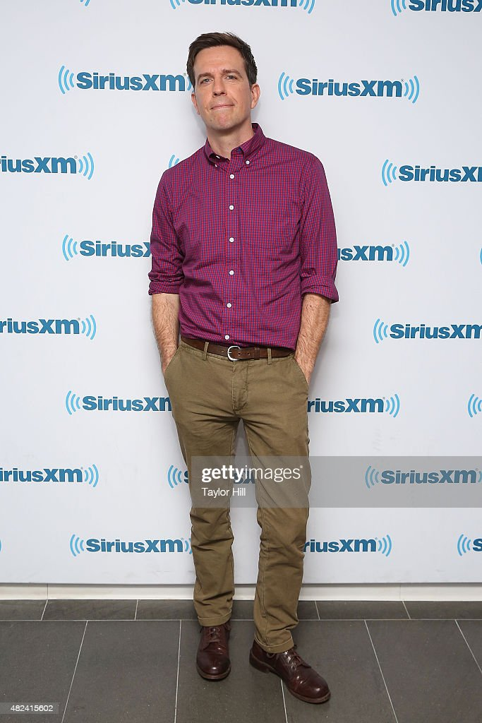 <a gi-track='captionPersonalityLinkClicked' href=/galleries/search?phrase=Ed+Helms&family=editorial&specificpeople=662337 ng-click='$event.stopPropagation()'>Ed Helms</a> visits the SiriusXM Studios on July 30, 2015 in New York City.