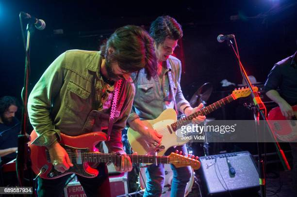 Ed Jurdi and Gordi Quist of Band of Heathens perform on stage at Rocksound on May 28 2017 in Barcelona Spain