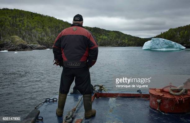 Ed Kean is watching his new target iceberg As more icebergs drift south due to climate change a few enterprising seafarers have begun harvesting...