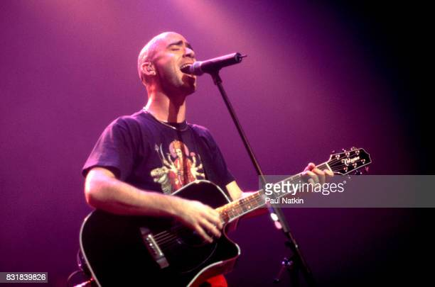 Ed Kowalczyk of American alternative rock band Live performs at the Riviera Theater in Chicago Illinois October 27 1997