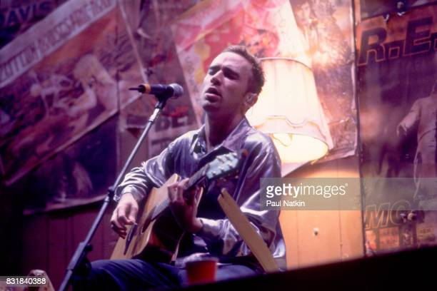 Ed Kowalczyk of Live performs at the World Music Theater in Tinley Park Illinois August 4 1995