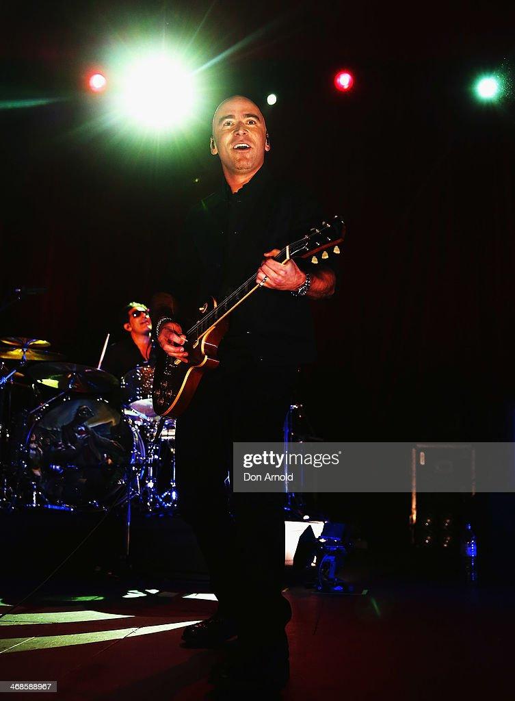 Ed Kowalczyk performs live for fans at Enmore Theatre on February 11 2014 in Sydney Australia
