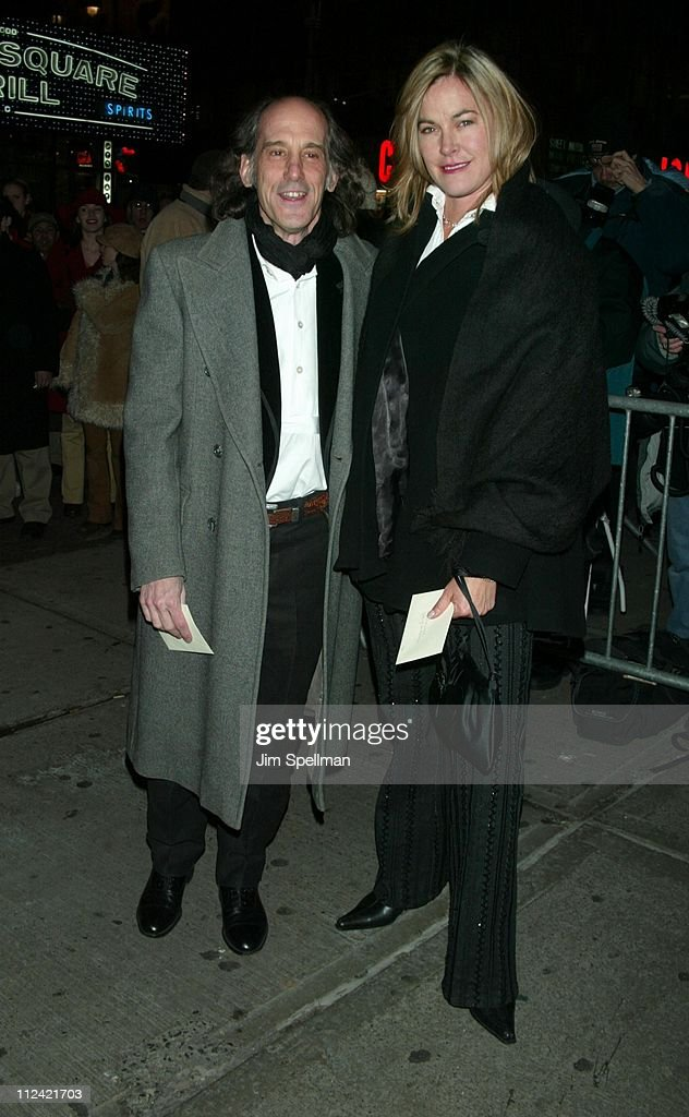 Ed Lachman and Sarah Livermore during The 2002 New York Film Critics Circle 68th Annual Awards Dinner - Outside Arrivals at Noche Restaurant in New York City, New York, United States.
