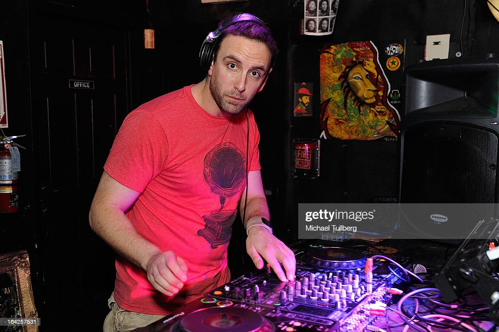 DJ Ed Marco spins during Winter Music Conference 2013 on March 21, 2013 in Miami Beach, Florida.
