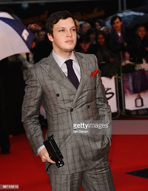 Ed Mcfarlane of Friendly Fires arrives on the red carpet for The Brit Awards 2010 at Earls Court on February 16 2010 in London England