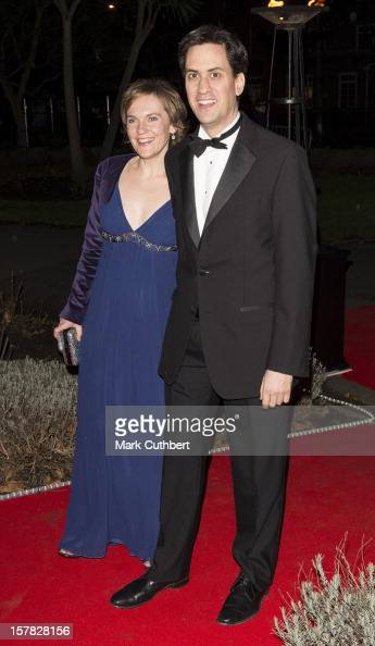 Ed Miliband and Justine Thornton attend the Sun Military Awards at Imperial War Museum on December 6 2012 in London England