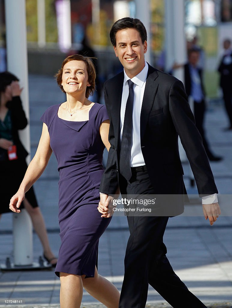 Ed Milliband and his wife <a gi-track='captionPersonalityLinkClicked' href=/galleries/search?phrase=Justine+Thornton&family=editorial&specificpeople=7217902 ng-click='$event.stopPropagation()'>Justine Thornton</a> arrive ahead of for his keynote speech to members and delegates during the annual Labour party conference at the Echo Arena on September 27, 2011 in Liverpool, England. Leader of the Labour Party <a gi-track='captionPersonalityLinkClicked' href=/galleries/search?phrase=Ed+Miliband&family=editorial&specificpeople=4376337 ng-click='$event.stopPropagation()'>Ed Miliband</a> will make the most important speech to conference since becoming leader a year ago and it is thought he will focus on bringing an end to Britain's 'fast buck' culture..