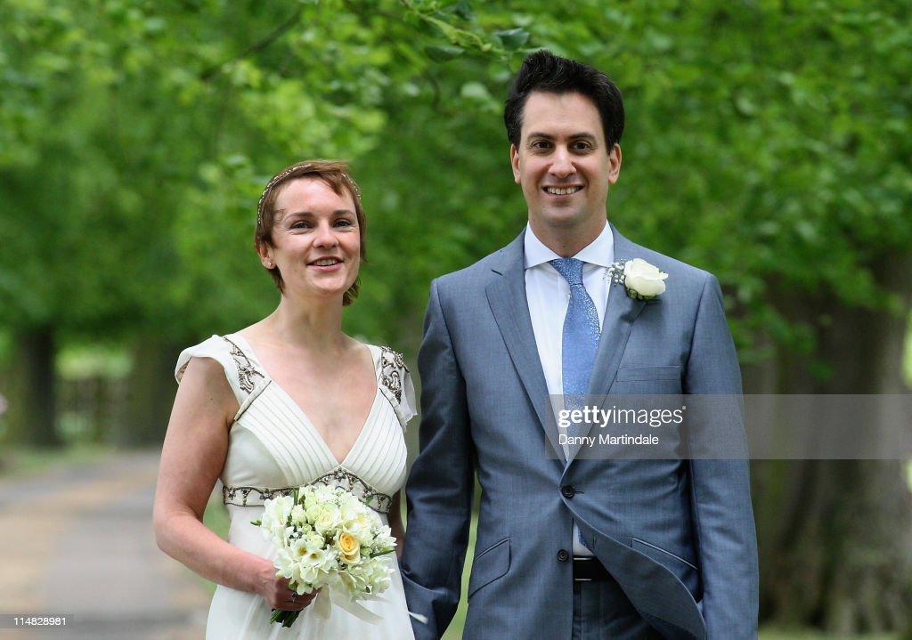Ed Milliband and Justine Thornton - Wedding