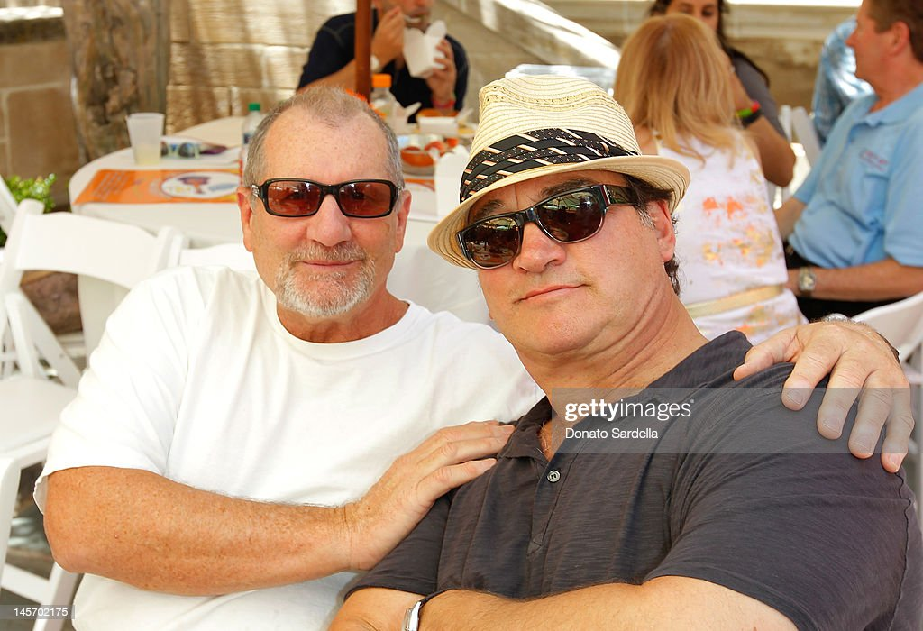 Ed O'Neil and <a gi-track='captionPersonalityLinkClicked' href=/galleries/search?phrase=Jim+Belushi&family=editorial&specificpeople=215411 ng-click='$event.stopPropagation()'>Jim Belushi</a> attend 6th Annual Kidstock Music And Arts Festival Sponsored By Hudson Jeans at Greystone Mansion on June 3, 2012 in Beverly Hills, California.