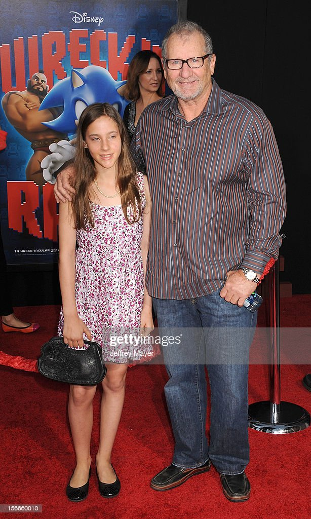 Ed O'Neill and Clair O'Neill arrive at the Los Angeles premiere of 'Wreck-It Ralph' at the El Capitan Theatre on October 29, 2012 in Hollywood, California.