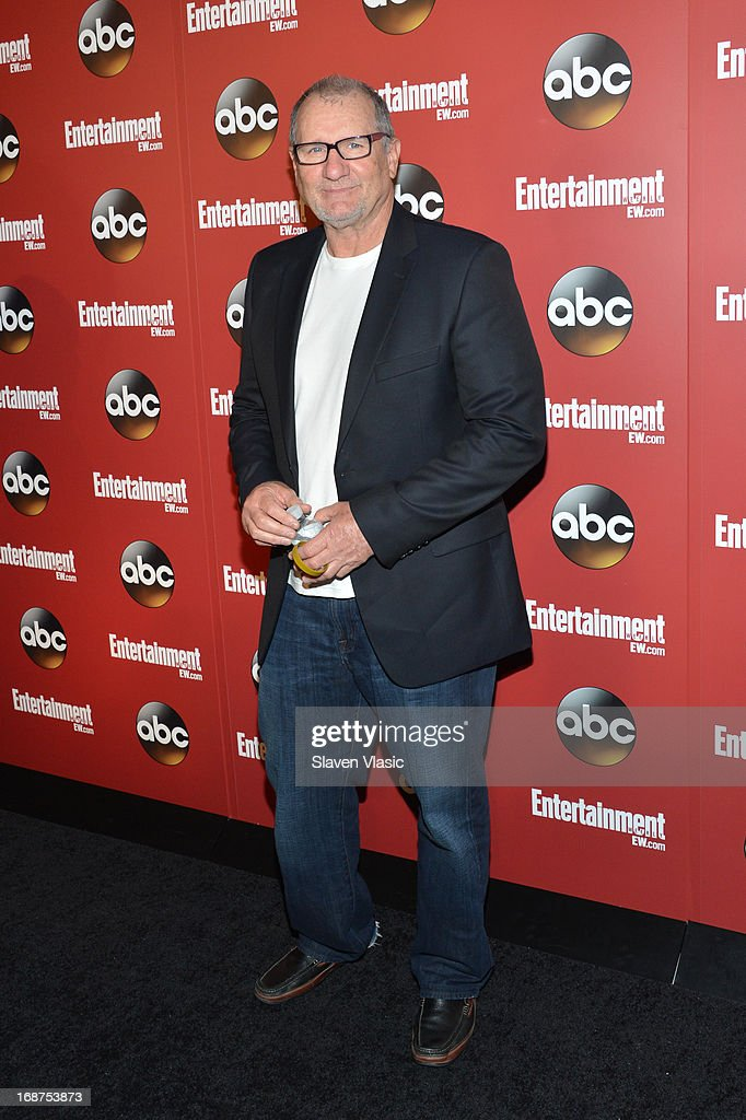 <a gi-track='captionPersonalityLinkClicked' href=/galleries/search?phrase=Ed+O%27Neill&family=editorial&specificpeople=777163 ng-click='$event.stopPropagation()'>Ed O'Neill</a> attends the Entertainment Weekly & ABC-TV Upfronts Party at The General on May 14, 2013 in New York City.