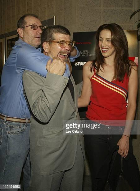 Ed O'Neill David Mamet Writer/Director and Alexandra Kerry daughter of Sen John Kerry