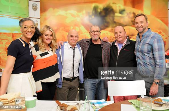 THE CHEW Ed O'Neill is the guest on 'The Chew' airing Friday June 17 2016 on the ABC Television Network NEILL MARIO