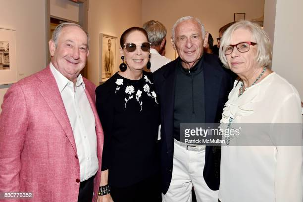 Ed Pantzer Pam Pantzer Richard Fabricant and Florence Fabricant attend the Guild Hall 2017 Summer Gala Celebrating AVEDON'S AMERICA at Guild Hall on...