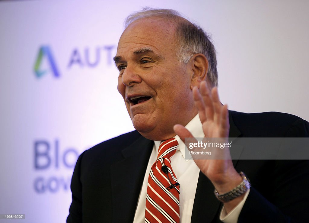 <a gi-track='captionPersonalityLinkClicked' href=/galleries/search?phrase=Ed+Rendell&family=editorial&specificpeople=2445310 ng-click='$event.stopPropagation()'>Ed Rendell</a>, former governor of Pennsylvania, speaks at the America on the Move: Investing in U.S. Infrastructure forum sponsored by Bloomberg Government and Building America's Future, in Washington, D.C., U.S., on Tuesday, Feb. 4, 2014. The forum brings together experts to discuss the challenges of improving U.S. infrastructure in the face of tightened budgets and the declining Highway Trust Fund. Photographer: David Banks/Bloomberg via Getty Images