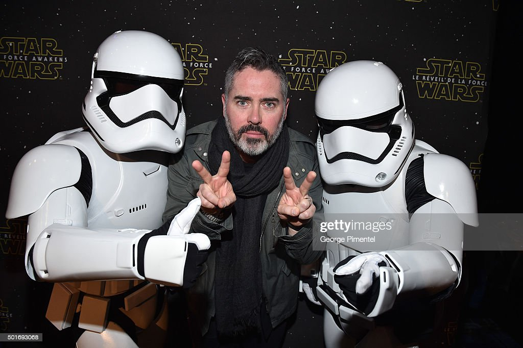 Ed Robertson of Barenaked Ladies attends Canadian Premiere of 'Star Wars The Force Awakens' held at Scotiabank Theatre on December 16 2015 in Toronto...
