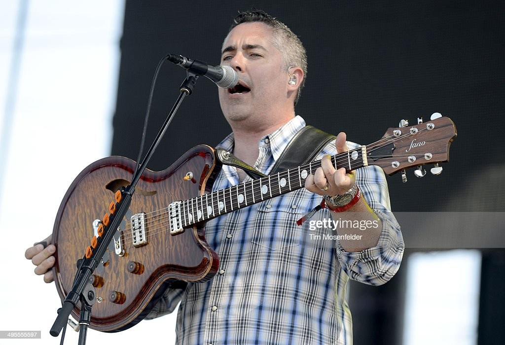 Ed Robertson of Barenaked Ladies performs during the Bottlerock Music Festival at the Napa Valley Expo on June 1 2014 in Napa California