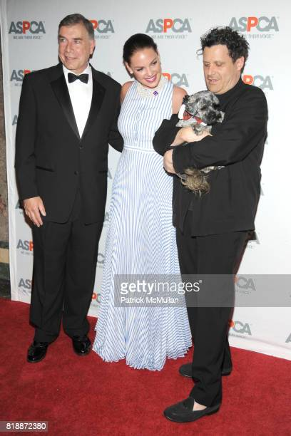 Ed Sayres Katherine Heigl Isaac Mizrahi and Philly the Dog attend 13th Annual ASPCA Bergh Ball at The Plaza on April 15 2010 in New York City