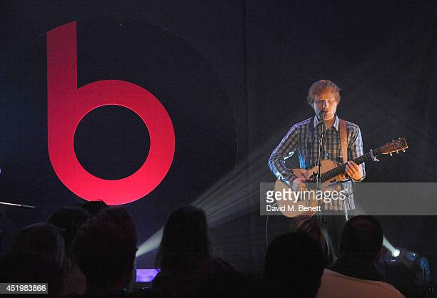 Ed Sheeran attends Beats Present Sound Symposium on July 10 2014 in London England