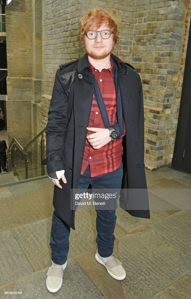 Ed Sheeran attends The Q Awards 2017, in association with Absolute Radio, at The Roundhouse on October 18, 2017 in London, England.