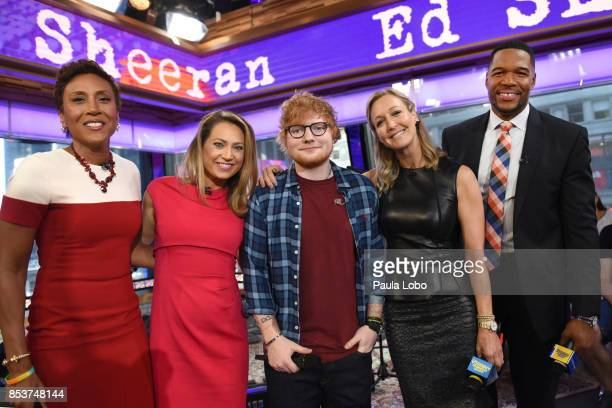 AMERICA Ed Sheeran is a guest on 'Good Morning America' Monday September 25 airing on the ABC Television Network ROBIN