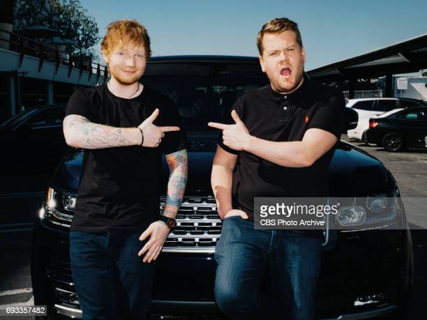 Ed Sheeran performs a Carpool Karaoke with James Corden during 'The Late Late Show with James Corden' Tuesday June 6 2017 On The CBS Television...