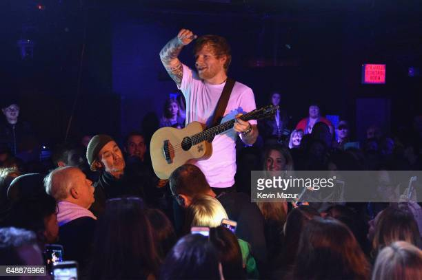 Ed Sheeran performs for SiriusXM's 'Secret Show' Series at The Studio at Webster Hall on March 6 2017 in New York City Performance to air on SiriusXM...