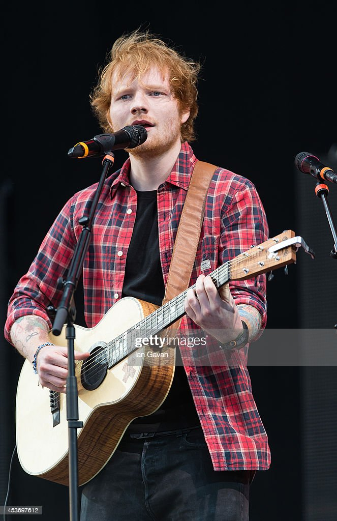 <a gi-track='captionPersonalityLinkClicked' href=/galleries/search?phrase=Ed+Sheeran&family=editorial&specificpeople=7604356 ng-click='$event.stopPropagation()'>Ed Sheeran</a> performs on Day 1 of the V Festival at Hylands Park on August 16, 2014 in Chelmsford, England.