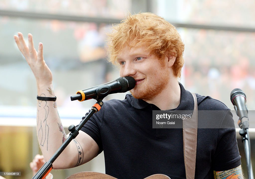 <a gi-track='captionPersonalityLinkClicked' href=/galleries/search?phrase=Ed+Sheeran&family=editorial&specificpeople=7604356 ng-click='$event.stopPropagation()'>Ed Sheeran</a> performs on NBC's TODAY Show on July 12, 2013 in New York, New York.