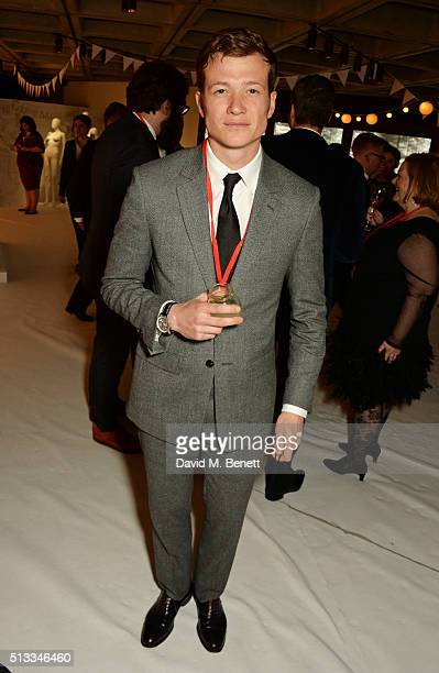 Ed Speleers attends the Bright Young Things Gala 2016 a Young Patrons of the National Theatre event in support of emerging talent at The National...