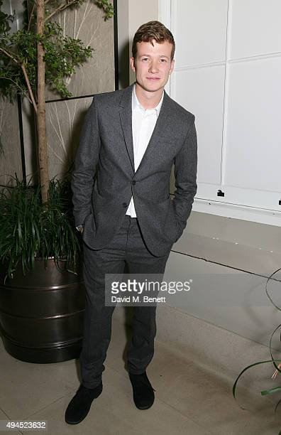 Ed Speleers attends the COS Dinner At Spring at Spring at Somerset House on October 27 2015 in London England