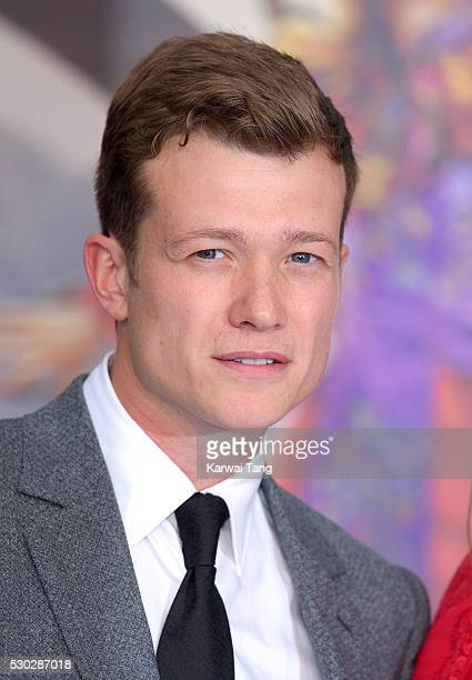 Ed Speleers attends the European Premiere of 'Alice Through The Looking Glass' at Odeon Leicester Square on May 10 2016 in London England