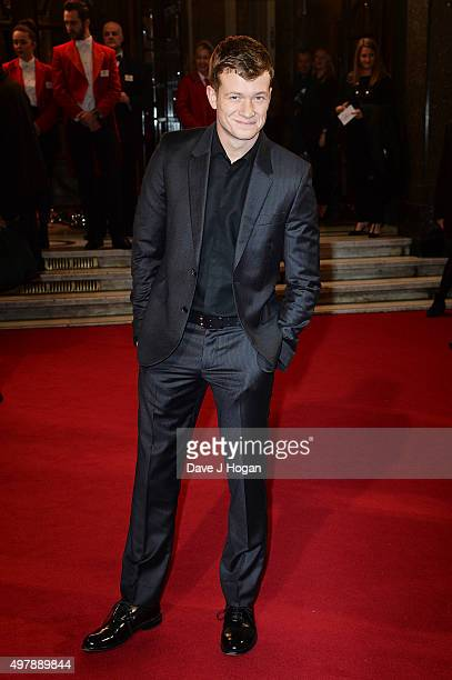 Ed Speleers attends the ITV Gala at London Palladium on November 19 2015 in London England