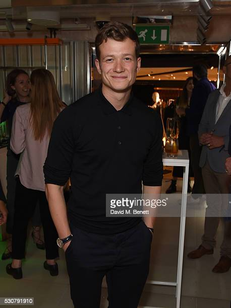 Ed Speleers attends the launch of Harvey Nichols new menswear department on May 11 2016 in London England
