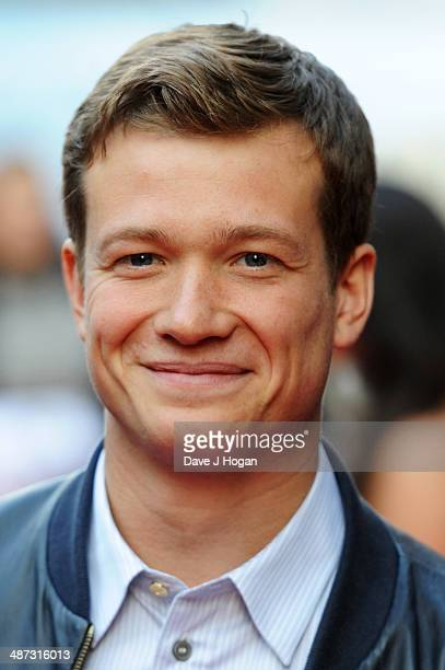 Ed Speleers attends the UK premiere of 'Plastic' on April 29 2014 in London England