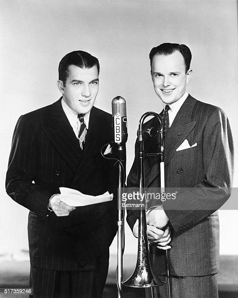 4/17/1941 Ed Sullivan noted Broadway and Hollywood columnist and bandmaster Will Bradley are starring in the new 'Silver Theater Summer Show' which...