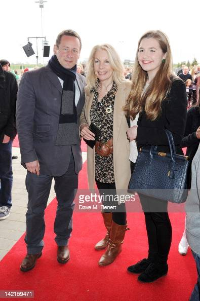 Ed Vaizey MP and Amanda Nevill attends the Grand Opening of the Warner Bros Studio Tour London The Making of Harry Potter on March 31 2012 in Watford...