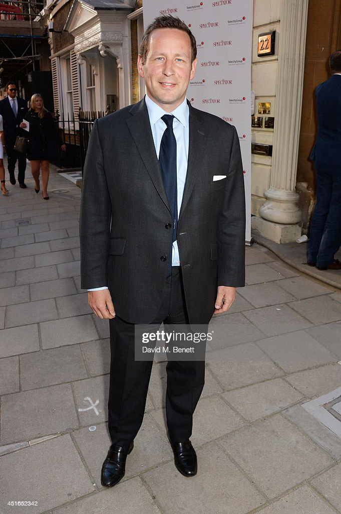 Ed Vaizey MP attends The Spectator Summer Party at Spectator House on July 3, 2014 in London, England.