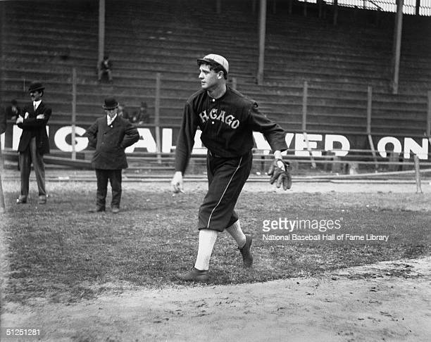 Ed Walsh of the Chicago White Sox throws a pitch Ed Walsh played for the Chicago White Sox from 19041916 then Boston Braves in 1917