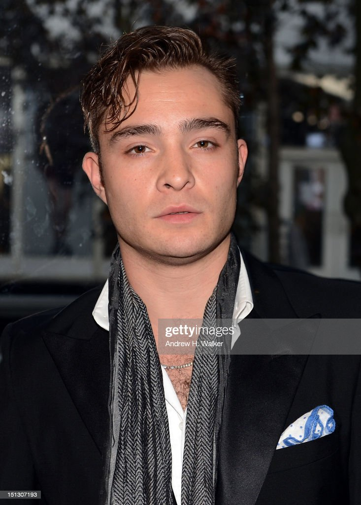 Ed Westwick attends the 9th annual Style Awards during Mercedes-Benz Fashion Week at The Stage Lincoln Center on September 5, 2012 in New York City.