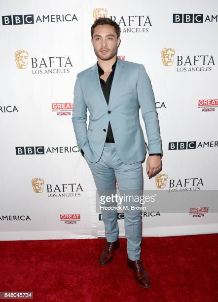 Ed Westwick attends the BBC America BAFTA Los Angeles TV Tea Party 2017 at The Beverly Hilton Hotel on September 16 2017 in Beverly Hills California